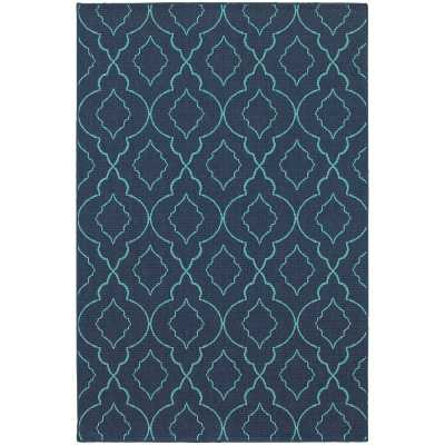 Kailani Navy/Blue Indoor/Outdoor Area Rug - AllModern