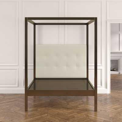 Chiara Upholstered Canopy Bed - Wayfair