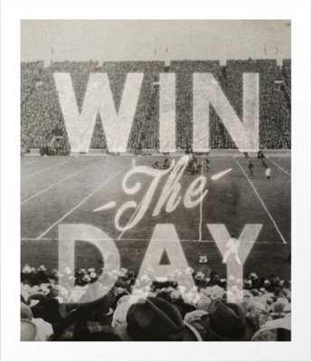 Win the Day Art Print 13 x 15 - Society6