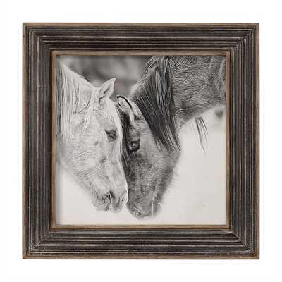 Custom Black and White Horses - Hudsonhill Foundry