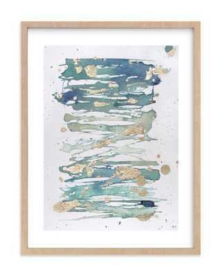"enchantment no. 2 - 18"" X 24"" - Natural Raw Wood Frame - White Border - Minted"