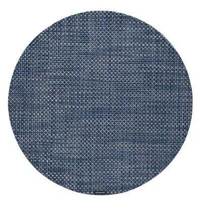 Chilewich Basketweave Place Mat, Denim - Williams Sonoma