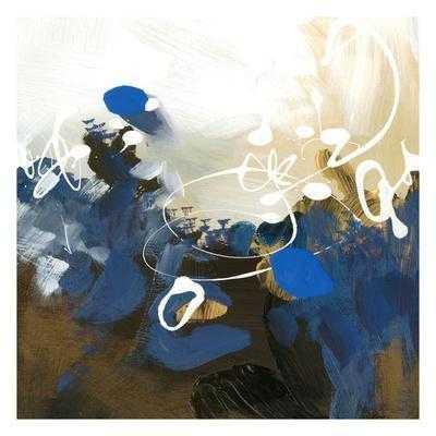 Blue Abstract - art.com