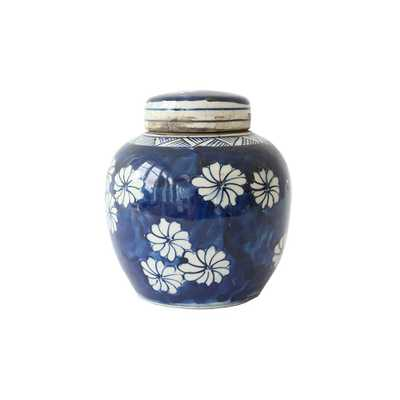 BLUE & WHITE MINI JAR - OPTION TWO - McGee & Co.