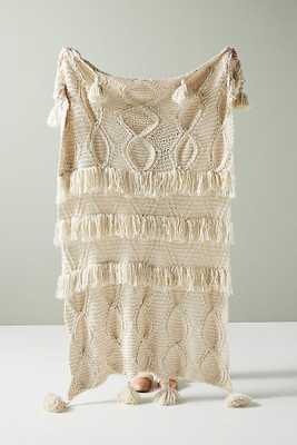 Adalynn Throw Blanket - Anthropologie