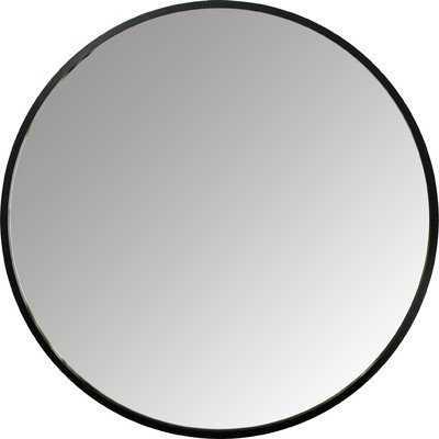 "Hub 37"" Accent Mirror charcoal - AllModern"