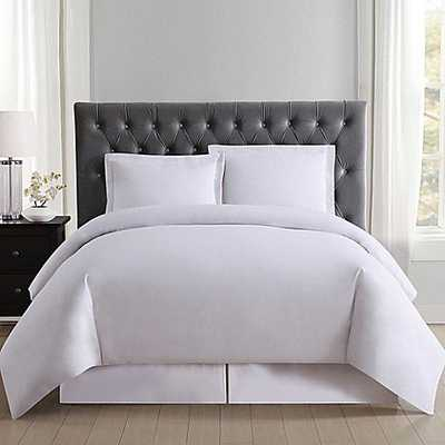Truly Soft Everyday Full/Queen Duvet Cover Set in White - Bed Bath & Beyond