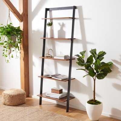 Dametris Solid Wood Ladder Bookcase - Wayfair