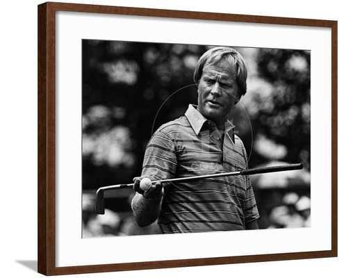 Golf Pro Jack Nicklaus, August, 1984 - art.com