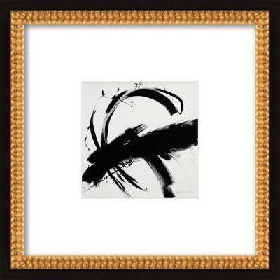 """B + W #1 by Jill Sykes - 8""""x8"""" Framed Art Print, White Boarder - Artfully Walls"""