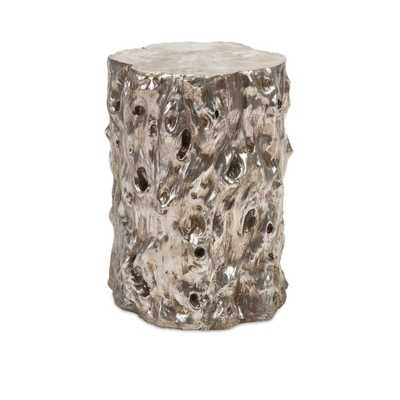 Daniel Silver Tree Stool - Mercer Collection