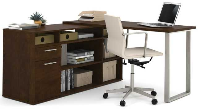 Alves L-Shaped Executive Desk - Wayfair