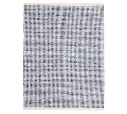 Oden Rug, 8x10', Blue - Pottery Barn
