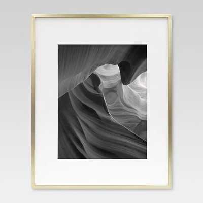 Metal Frame - Brass - Matted Photo - Project 62™ - Matted for 11x14 photo - Target