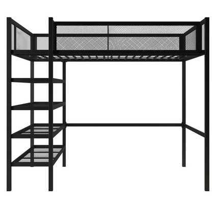 Junior Loft Slat Bed Twin - Wayfair