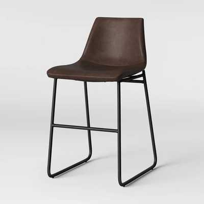 Bowden Faux Leather Counter Stool - Project 62™ - Target