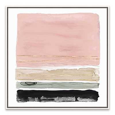 Rothko's Stripes II 19-Inch Square Canvas Wall Art - Bed Bath & Beyond