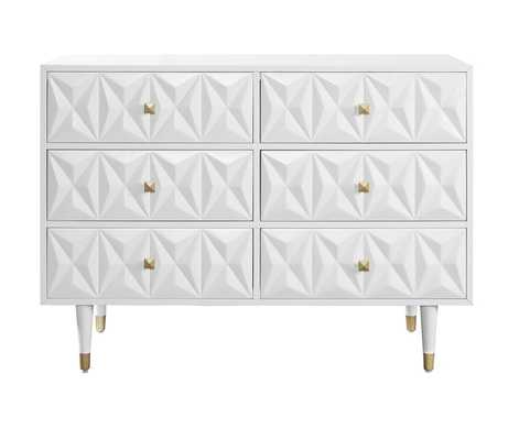 Virginia 6 Drawer Double Dresser - AllModern