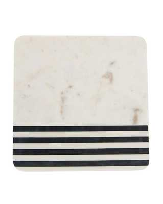 BLACK STRIPED CHEESE BOARD - McGee & Co.