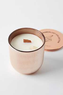 Wicks and Stones Wanderlust Crystal Candle - Anthropologie