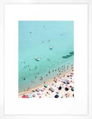 Beach Framed Framed Art Print - Society6