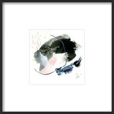 "#4 by Beth Winterburn with Matte Black Metal Frame- 8""x 8"" - Artfully Walls"