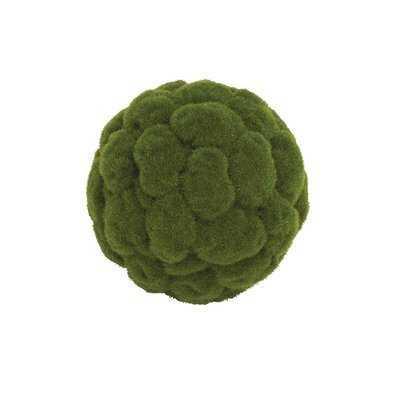 Polyester Grass Decorative Ball - Wayfair