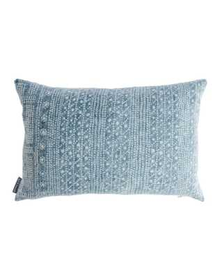 """JUNIE PILLOW WITHOUT INSERT, 14"""" x 20"""" - McGee & Co."""
