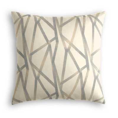 Throw Pillow  Tessellate - Lead - Loom Decor