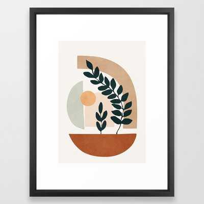 """Soft Shapes III Framed Art Print, Medium (gallery) - 20"""" X 26"""" - Society6"""