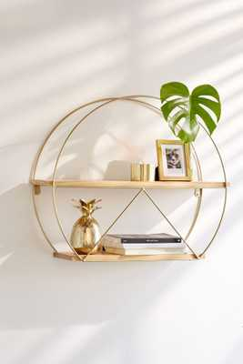 Tabby Circle Wall Shelf - Urban Outfitters