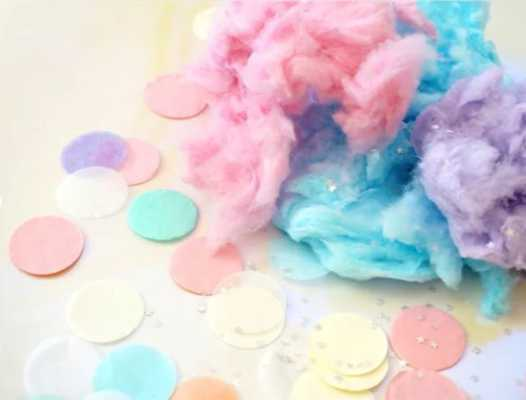 Confetti and Cotton Candy Canvas Print - Society6