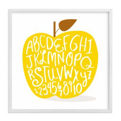 Apple ABCs - 16x16 - Minted