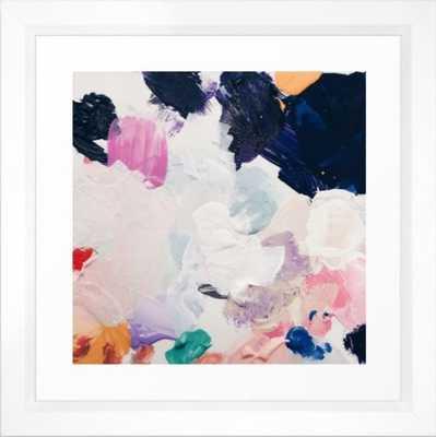 Rue - Vector white Frame - Society6