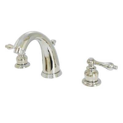 8 in. Widespread 2-Handle Bathroom Faucet in Polished Nickel - Home Depot