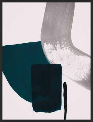 minimalist painting 02 - 11'' x 14'' - no matte - Artfully Walls