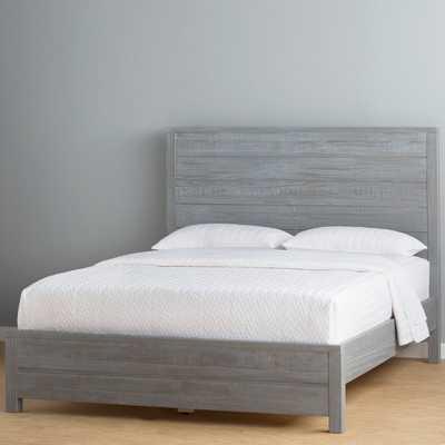 MONTAUK PANEL BED - GREY- Full size - Birch Lane