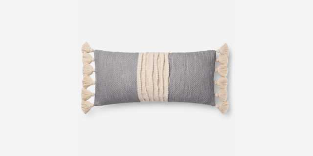 """P0688 NATURAL / GREY, 12"""" x 27"""" with Poly Insert - Loma Threads"""