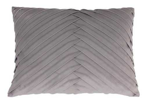 James Pleated Velvet Throw Pillow - Decor Therapy - Target