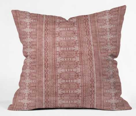 "DOTTED BOHEME Throw Pillow - 26"" sq. - With Insert - Wander Print Co."