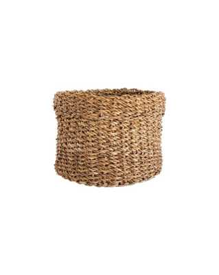 CUFFED SEAGRASS BASKET - SMALL - McGee & Co.