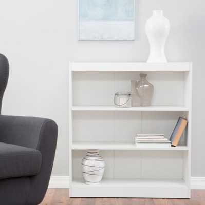 "Remmington Heavy Duty Bookcase - White - 36"" - Hayneedle"