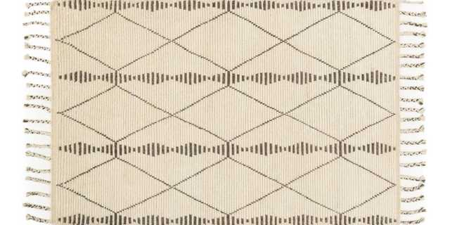 TF-01 IVORY / PEBBLE RUG, 9'6''X13'6'' - Loma Threads