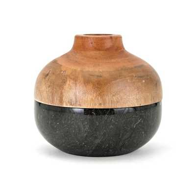 Lucas Short Lidded Vase - Mercer Collection