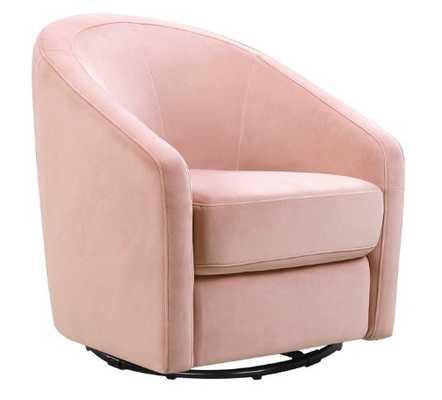 Madison Swivel Glider - Blush Pink - Babyletto