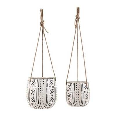 Relli Hanging Planters - Set of 2 - Mercer Collection