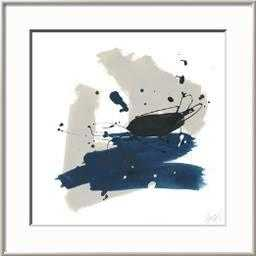 Kanji IX Art Print, Rhonda Silver Frame - art.com