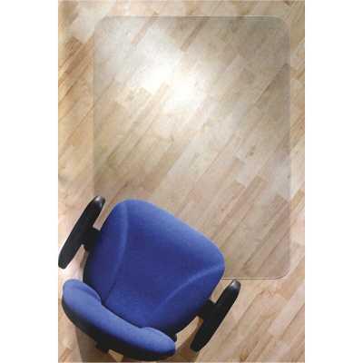 "35"" x 47"" Floortex ClearTex Chair Mats for Hard Floors Straight Rectangular Chair Mat - Wayfair"
