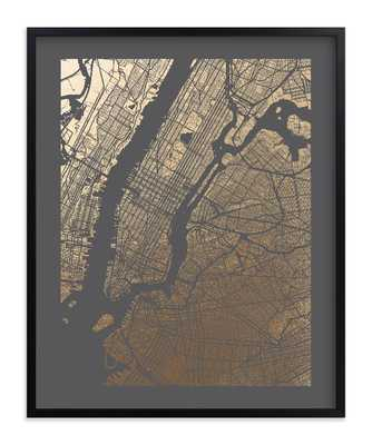 new york city map - Minted