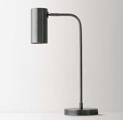 REGAN  TASK LAMP GUNMETAL - RH Teen